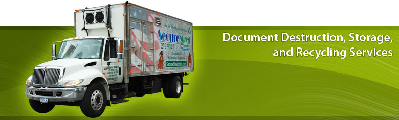 Document Destruction, Storage, and Recycling Services